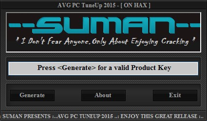 AVG PC TuneUP 2015 keygen