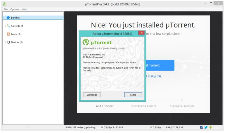 how to activate utorrent pro