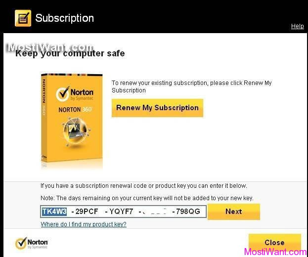 norton 360 product key generator free download