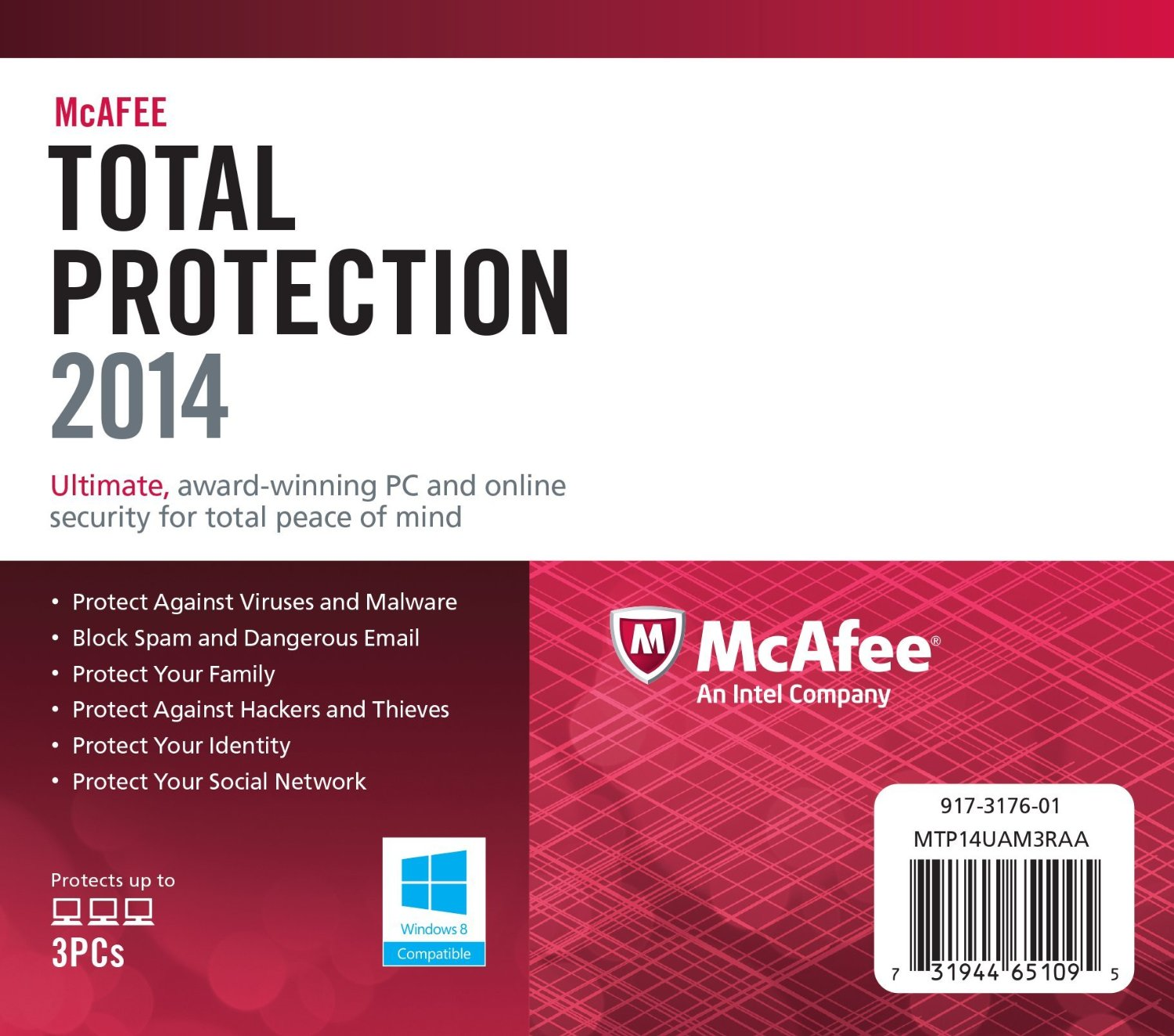 McAfee Total Protection 2014 Serial Key, Crack Full Free Download