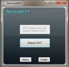 RemoveWAT 2.2.8 Windows 7 Working Activator Download