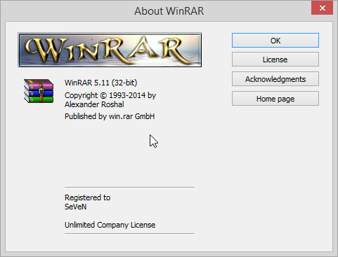 WinRAR Any Version Crack And Activator Full Free Download