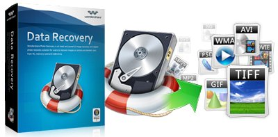 WonderShare Data Recovery Crack and Serial Number Free Download 2