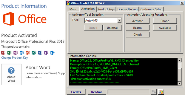 Microsoft Office 2013 Toolkit and EZ Activator Full Free Download