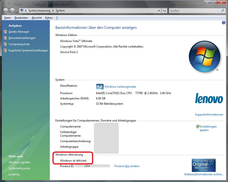 windows 7 product key number