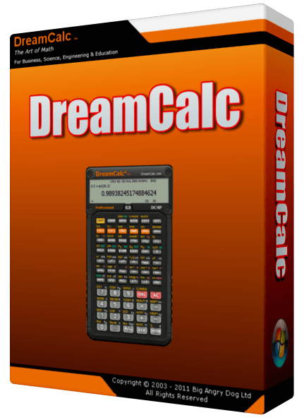 DreamCalc Professional Edition 4.9.3 Crack and Serial key Full Free Download