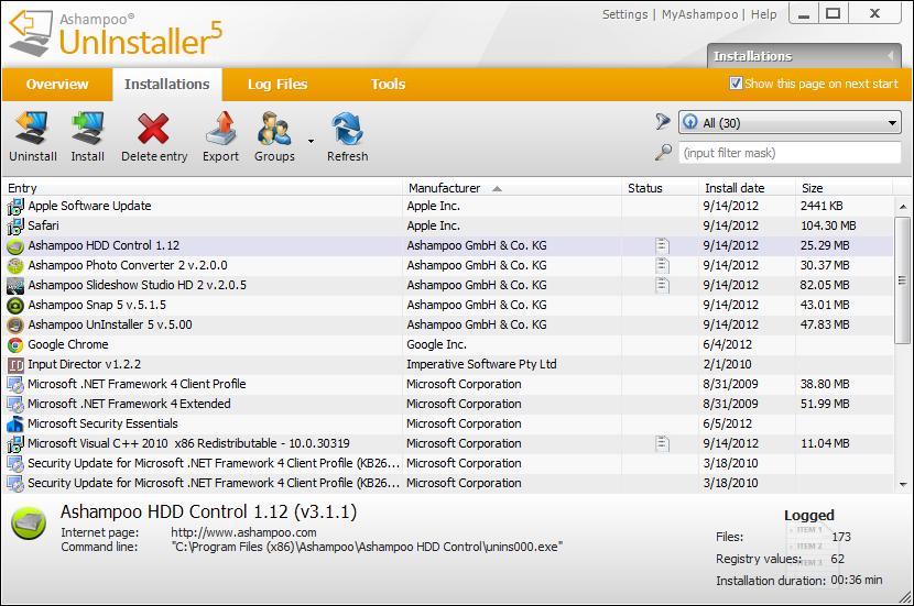 Ashampoo Uninstaller 5 Crack Plus Serial Key Full Free Download