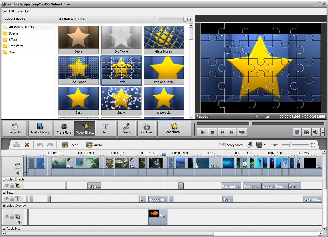 Avs Video Editor 7.1 Crack Plus Serial Key Full Free Download
