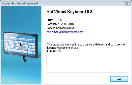 Hot Virtual Keyboard 8.3 Registration Key Plus Crack Full Free Download
