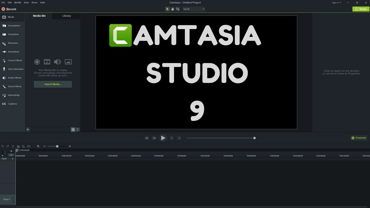 Camtasia Studio 9.1.1 Crack + Serial Key Tested