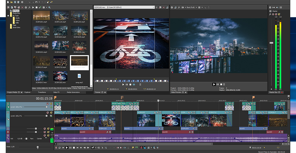 Sony Vegas Professional 15 Crack + Serial Key Free Download Tested