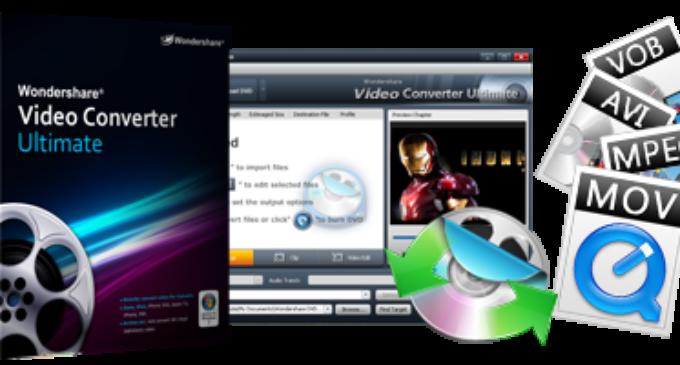 Wondershare Video Converter Ultimate 10.2.2 Crack + Serial Key